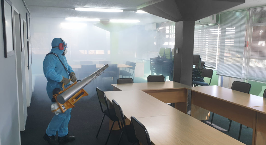 Disinfecting fogging for Covid-19