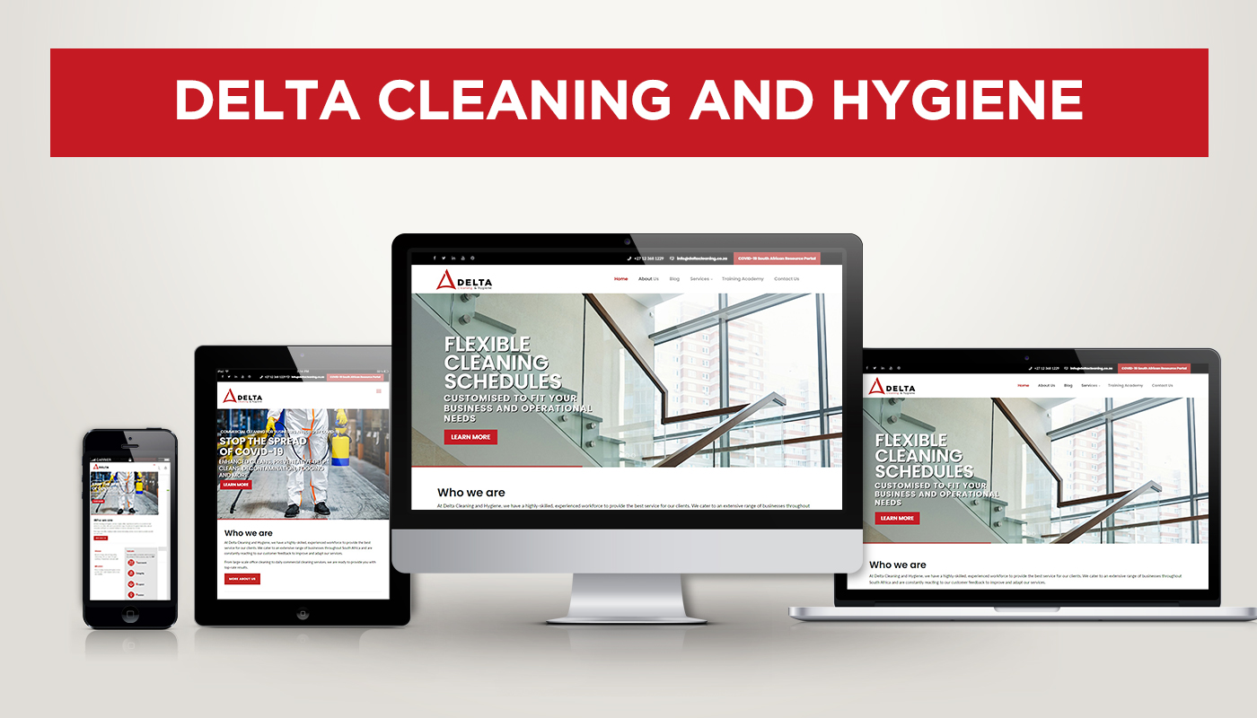 Delta Cleaning & Hygiene Launches New Website