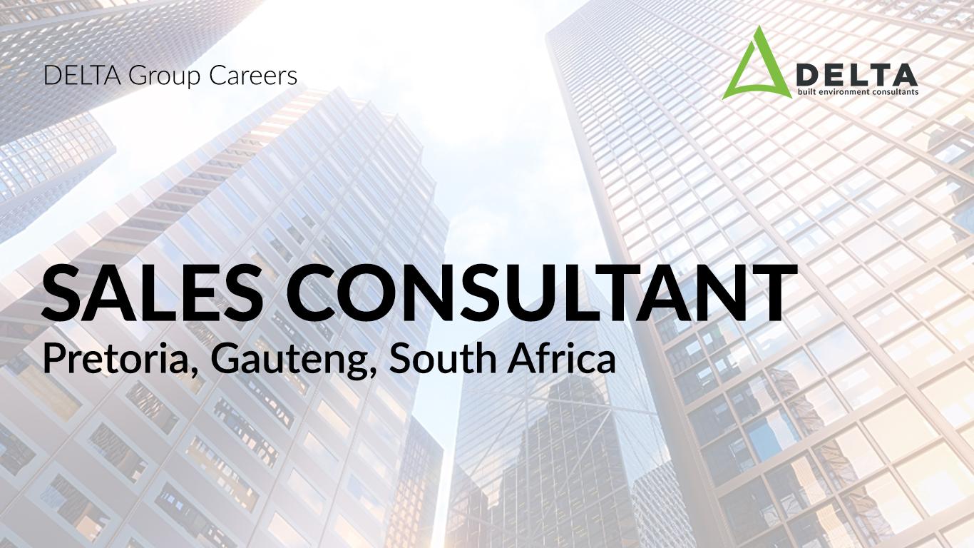 Sales Consultant – Delta BEC, Pretoria, South Africa