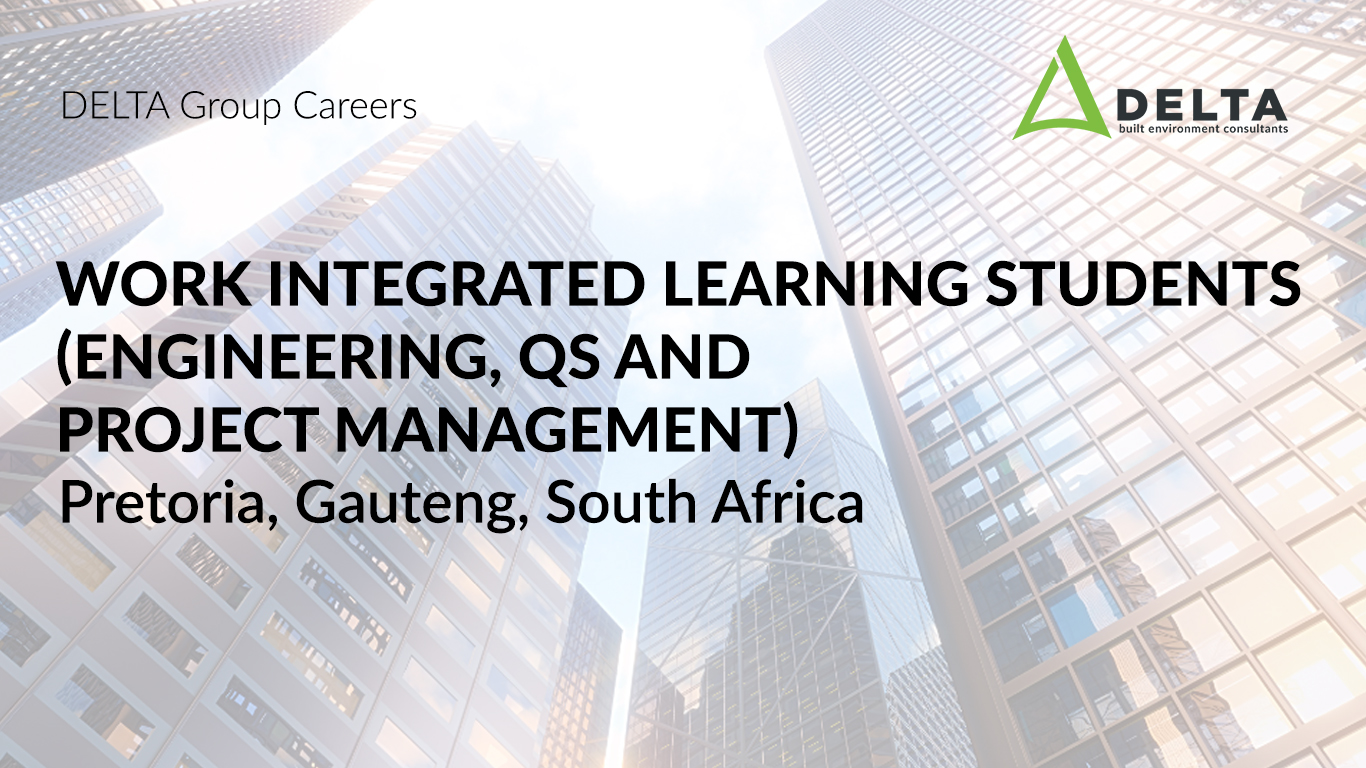 Work integrated learning students (Engineering, QS and Project Management)